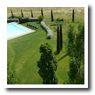 Hotel in Siena with garden and park